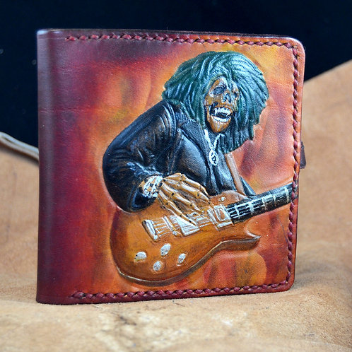 Guitarist Leather Wallet