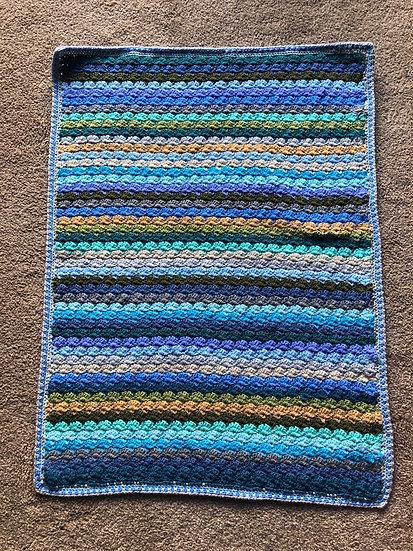 Coastal Shells Pram Blanket (Textiles)