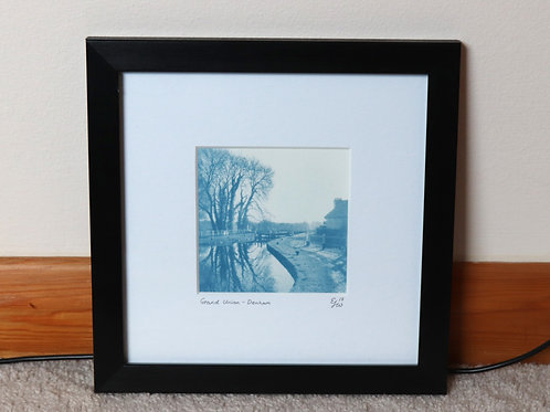 Grand Union Canal Cyanotype (Framed)