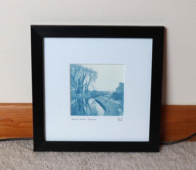 Grand Union Canal Cyanotype (Framed)