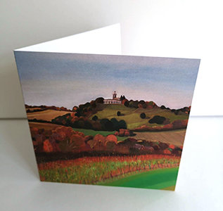 West Wycombe Hill (Greeting Card)