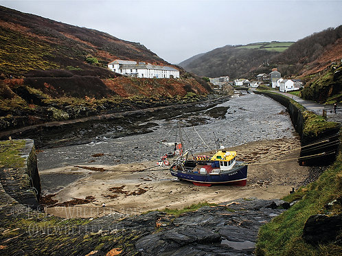 Boscastle Harbour (Greeting Card)