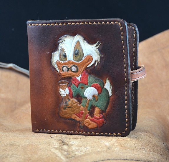 Cartoon Duck Leather Wallet