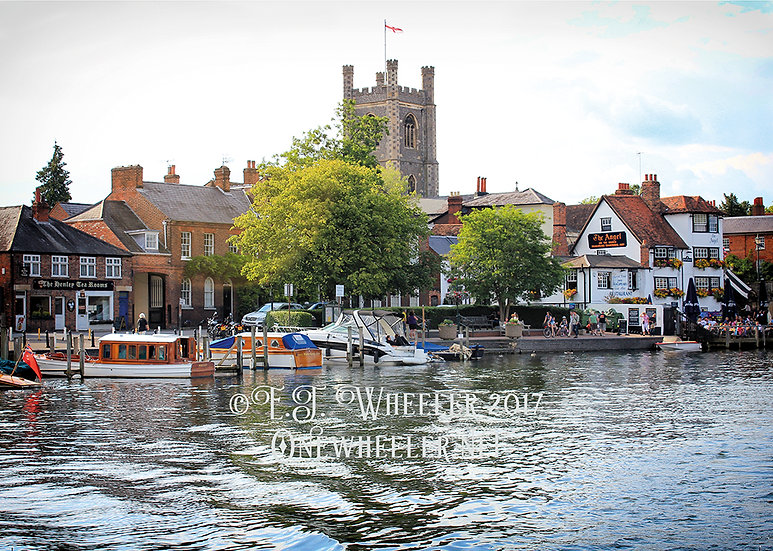 Henley-On-Thames (Greeting Card)