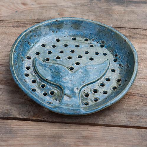 Porcelain Flukes Shipwreck Soap Dish