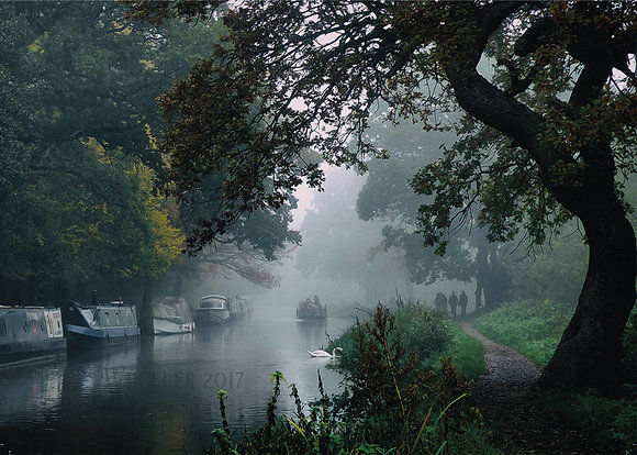 River Wey (Greeting Card)