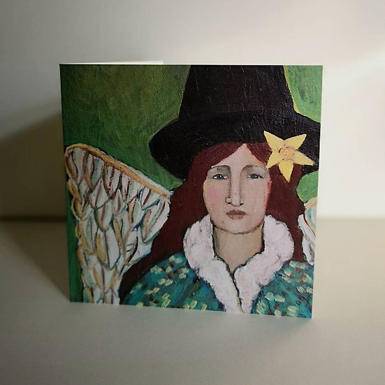 Welsh Lady (Greeting Card)