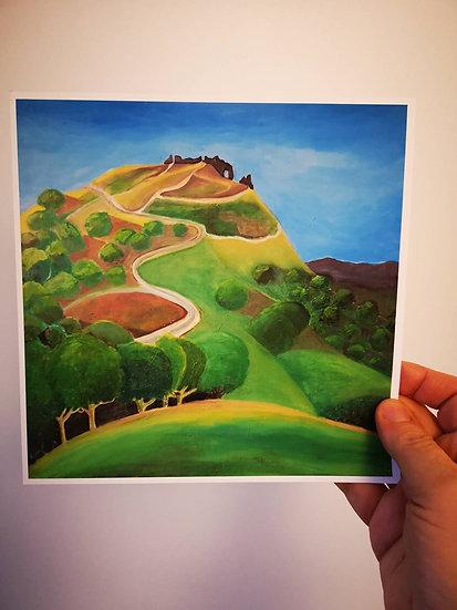 Dinas Bran Castle North Wales (Print) Lynne D Jones