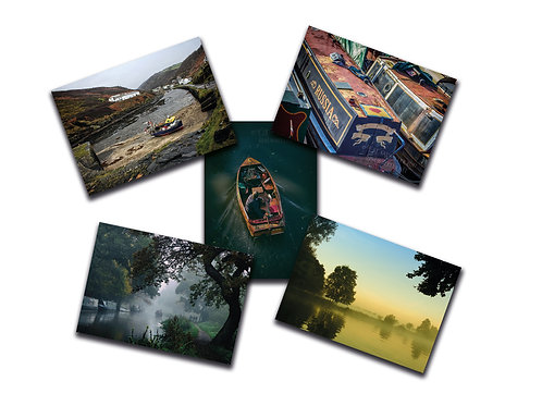 Boaty 5 pack (Greeting Cards)