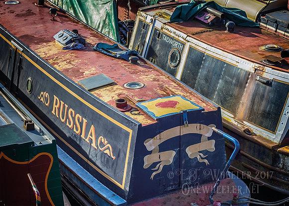 Narrow Boats (Greeting Card)