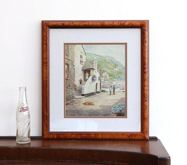 Original Cornish Watercolour (Framed)