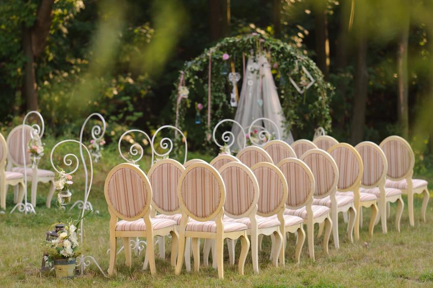 Outdoor Romantic Ceremony