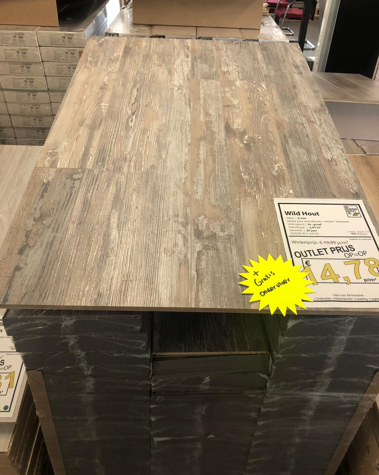 Laminaat   PVC   Parket vloeren - De Vloeren Outlet NL