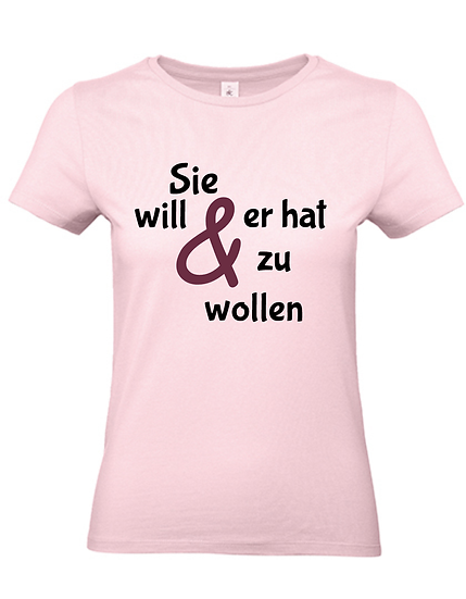 Team Shirt 'Ich will' - JGA