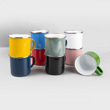 Emaille-Tasse (375ml)  inkl. hochwertiger 4C-Sublimation