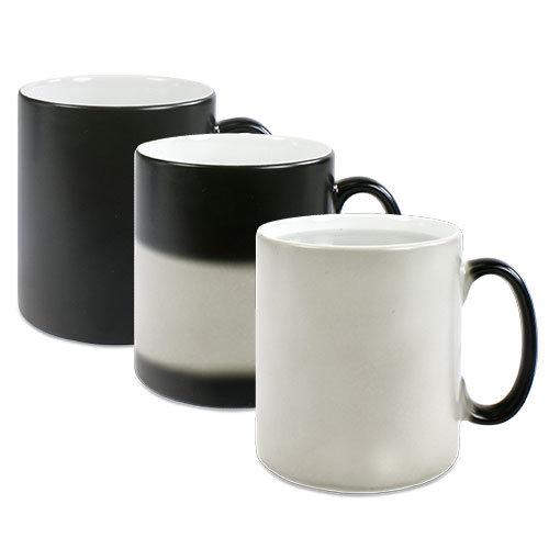 Magic-Mug Farbwechsel Tasse inkl. hochwertiger 4C-Sublimation