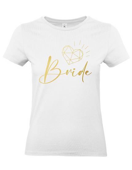 Braut Shirt 'Bride' - JGA
