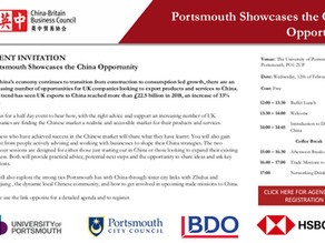 Get ready! Portsmouth Showcases the China Opportunity