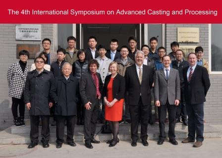 4th International Symposium on Advance Casting and Processing at GRIMN, Beijing