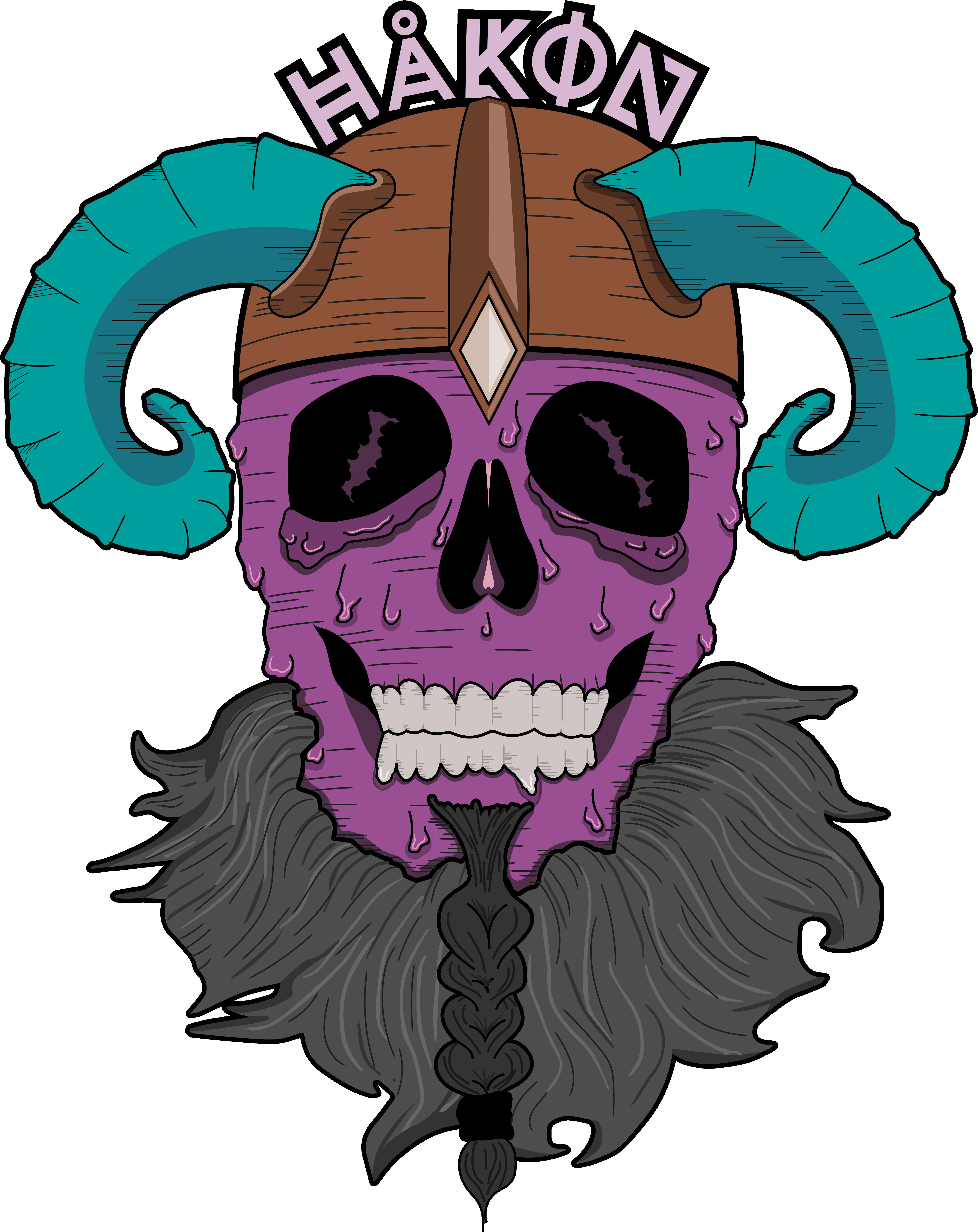 Hakon Viking Logo