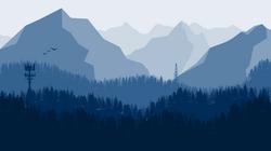 Forest Mountain Landscape-01