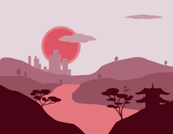 Vector Landscape 4