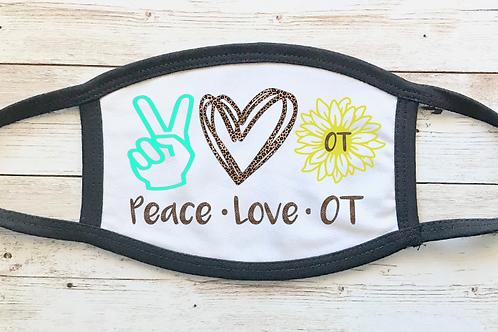 Peace Love OT Mask