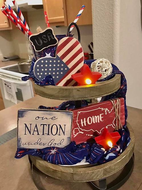 4th of July Decoration Kit and Zoom Party!