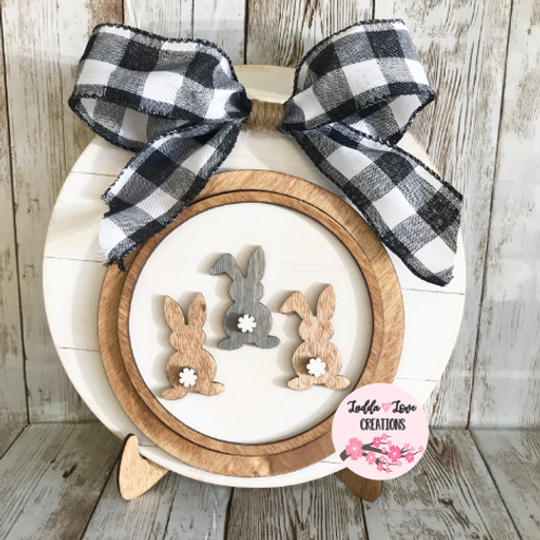Easter DIY kit! With Bunny Butt & He is Risen Inserts