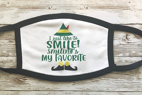 I Just Like to Smile Mask!
