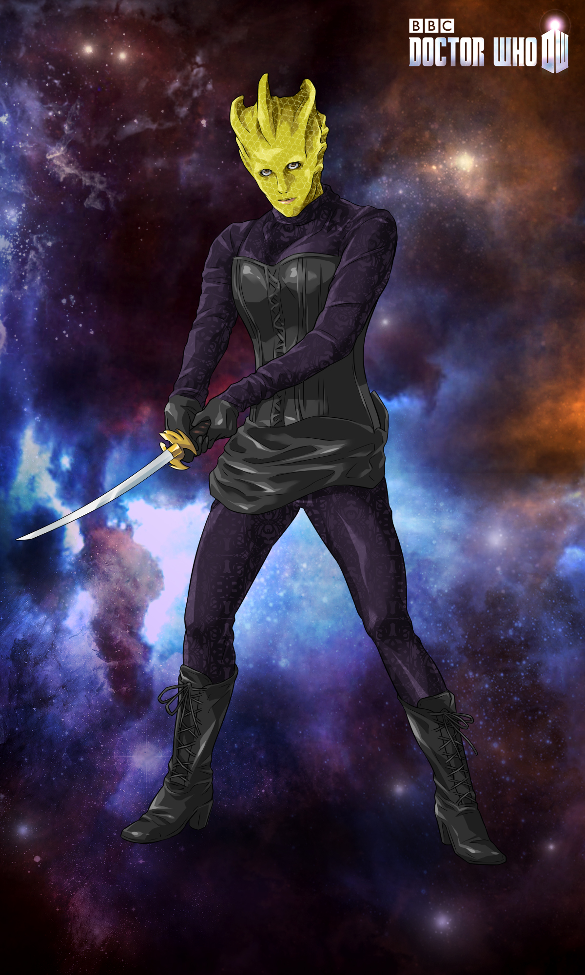 "Madame Vastra in ""Deep Breath"""