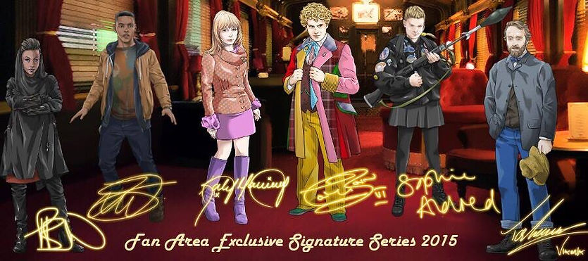 Fan Area Signature Series in Doctor Who: Legacy