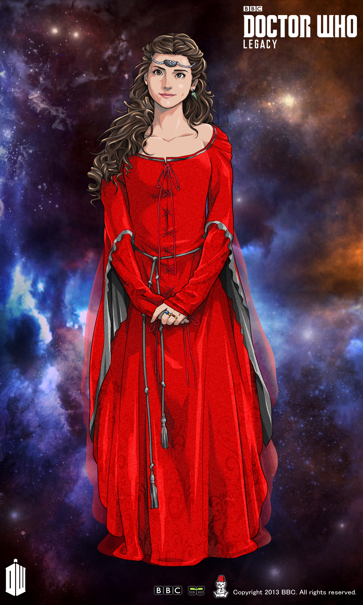 Clara in Robot of Sherwood
