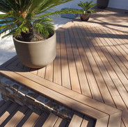 amazing patterns with composite decking.