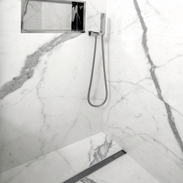 Tiled.shower.cubicle.niche.white.grey.we