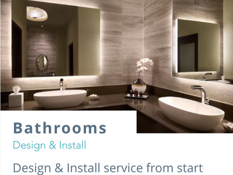 Quality bathrooms with a real luxury feel.....