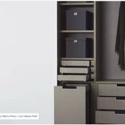 PORCELANOSA wardrobes - Foc Blanco Artic