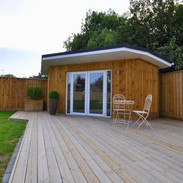 Summerhouse/Garden Room with angled front