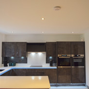 Italian Concrete modern fully fitted kitchen
