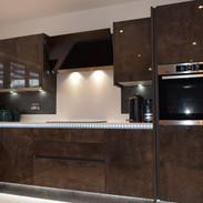 Italian Concrete high gloss kitchen