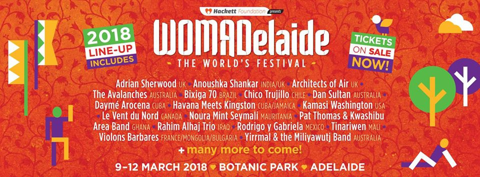 WOMADelaide 2018 Lineup Announced