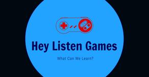 Hey Listen Games: One Year in