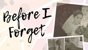 "Why You Should Teach With ""Before I Forget"""