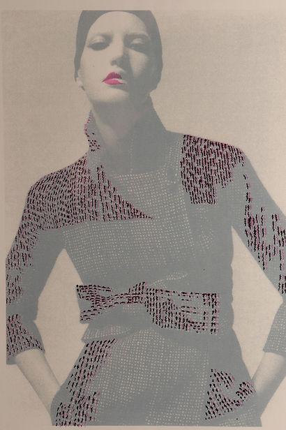 Serigraphie Candice Delaune Lunettes