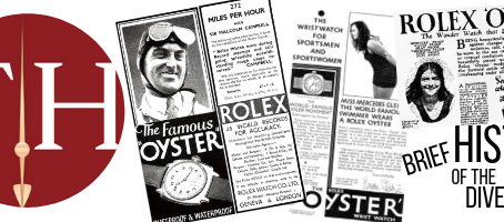 BRIEF HISTORY OF THE DIVE WATCH