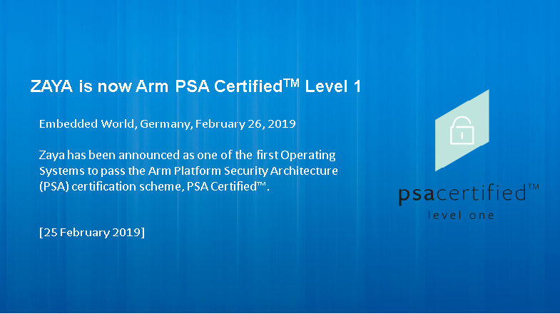 PSA Certified Level 1