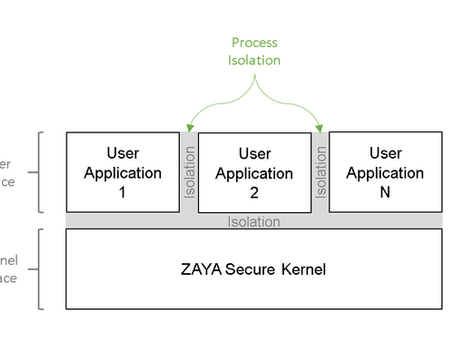 ZAYA Multiple Application Support and Process Isolation