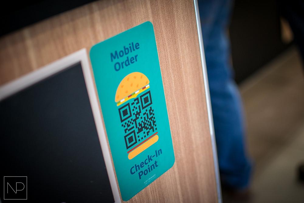 McDonalds Mobile Order QR Code System