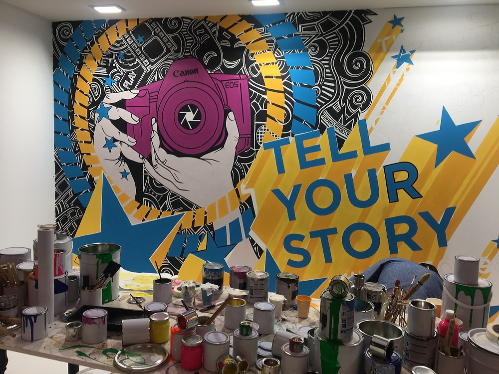 Tell your story, Photography Stand at The NEC