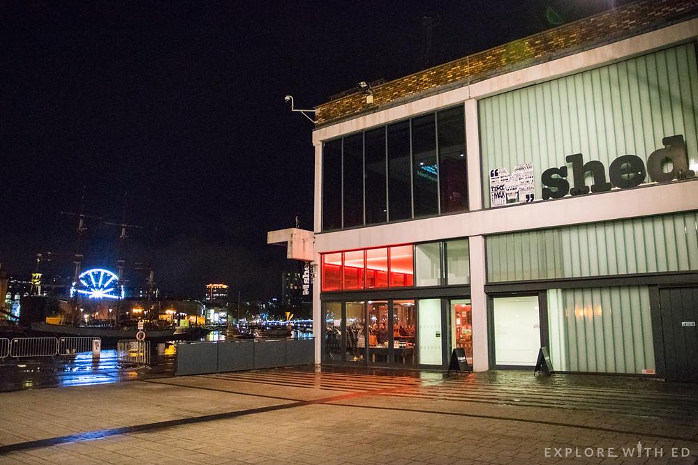 M Shed Harbourside Location